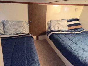 boat sleeping area