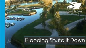 Flooding at NP Dodge Marina